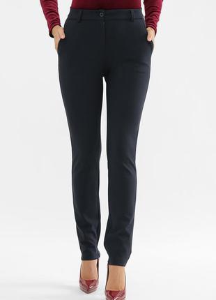 Классические темно-синие брюки