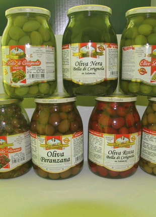 Оливки італійські