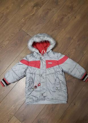 Термокуртка, зимняя куртка Lenne, р.104