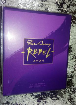 Продам Avon Far Away Rebel 50 мл -160 грн