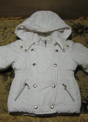 Куртка зимняя для девочки 104