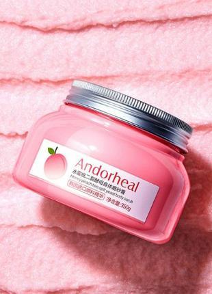 Скраб пилинг для тела Andorheal Honey Peach