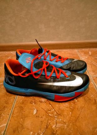 Баскетбольные кроссовки Nike KD6 US13.5 48 размер