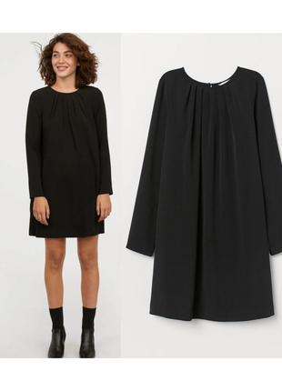 Платье с длинным рукавом  ,платье трапеция,а-образное платье sale