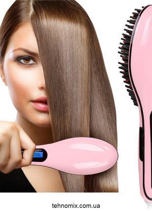Расческа выпрямитель для волос Fast Hair Straightener