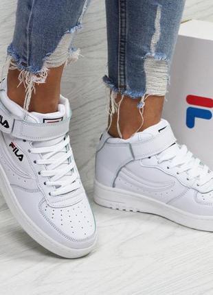 Демисезонные  женские кроссовки  fila