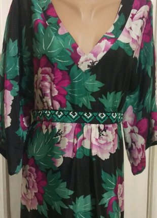 Нарядное платье шелк Monsoon