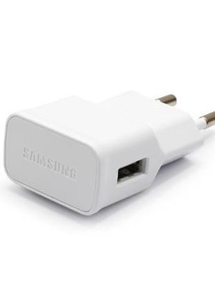 Зарядное устройство, адаптер питания Samsung 1000 мАч, белое