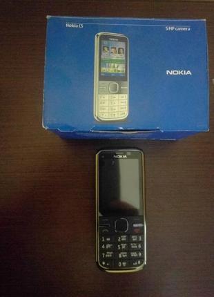 Nokia C5-00 5MP Black русская клавиатура