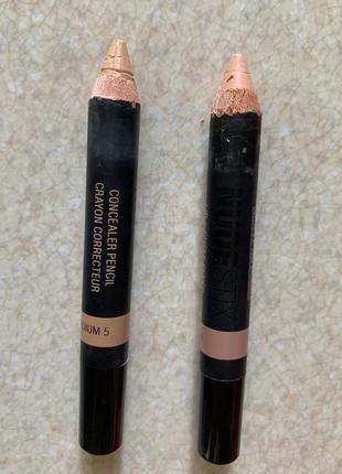 Набір, комплект коректор олівець, коректор карандаш, консилер-...