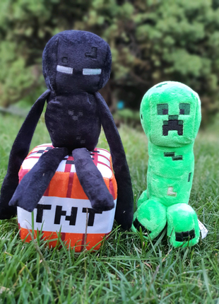 Мягкие игрушки майнкрафт все герои