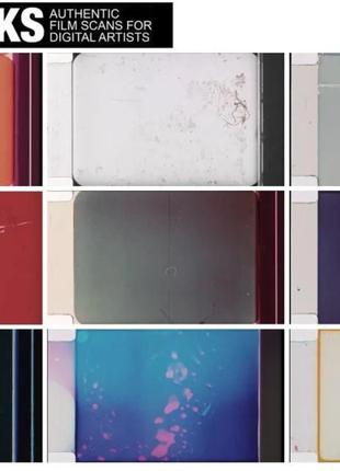 500 сканов пленки для обработки фотографии под винтаж ретро