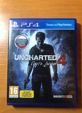 Игра на PS4 ''UNCHARTED 4''