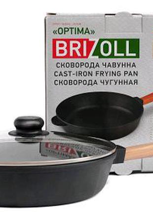 СКОВОРОДА Чугунная 24 см 2460-Р-С ТМ ''BRIZOLL'' 240Х61.5 ММ