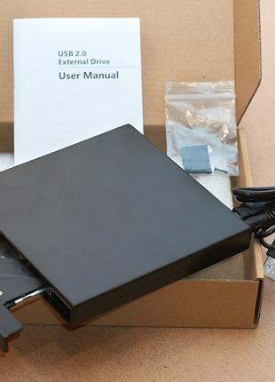 Внешний карман для CD/DVD привода ноутбука SATA