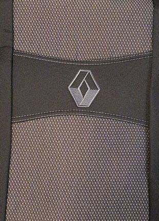 Чехлы на сиденья Renault Dokker 1+1
