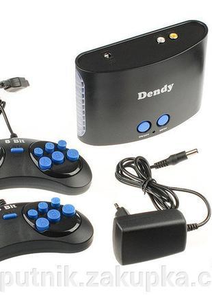 Игровая приставка Dendy X 225 встроенных игр (все хиты!)