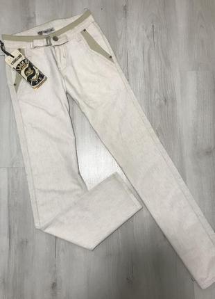 Светлые мужские брюки cardellino jeans 062 (28)