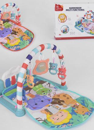Детский развивающий музыкальный коврик-пианино для малышей 668-14