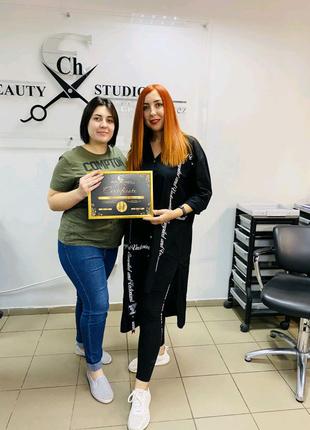 Обучение професси парикмахер-стилист