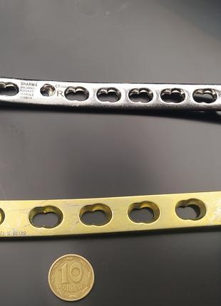 Пластины титановые Т , L образные для операции конечностей