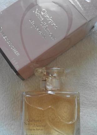 Yves rocher quelques note d'amour духи парфюмированная вода