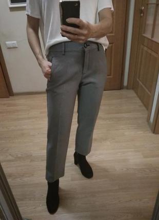 2-е брюк за 190 грн. шикарные стильные  брючки с карманами! р....