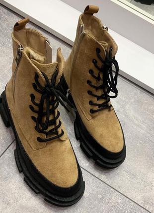 Трендовые ботинки женские зимние