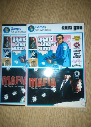 GTA Компютерние Игри в одному диску 7 ігор