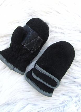 Теплые варежки рукавицы с утяжками  thinsulate