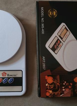Весы электронные кухонные 10 кг Domotec