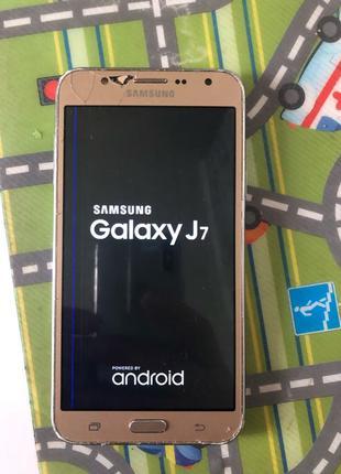 Оригинальный Samsung Galaxy J-7 4/16gb