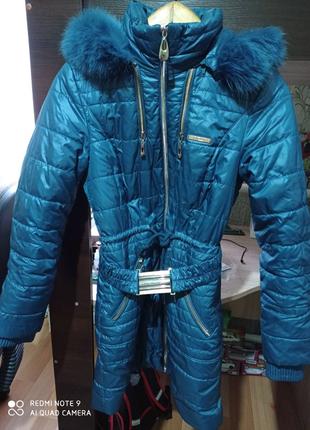 Продам женскую куртку зима