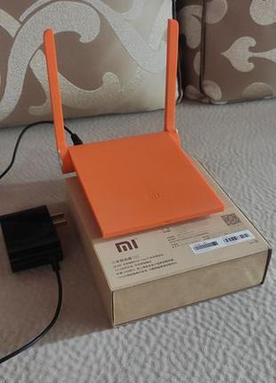 Роутер маршрутизатор Xiaomi Mi WiFi Router mini Orange.