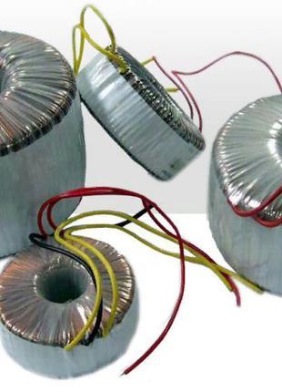 Тороидальный трансформатор Тор80 на 80 ватт 220/12 вольт