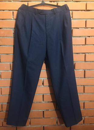 Шерстяные брюки m&s 50-52 р.