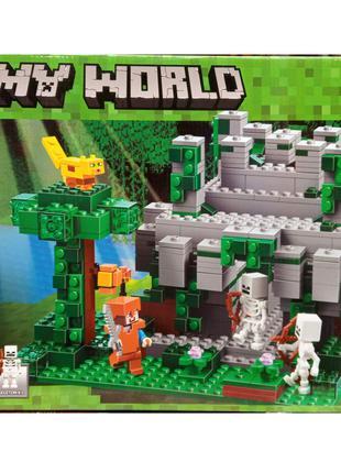 Конструктор Minecraft Майнкрафт Bela 10623 Храм в джунглях