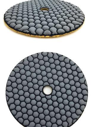 Черепашка 125 плитка керамогранит ремонт сухая полировка