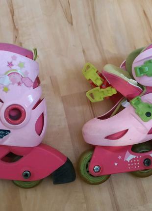 Детские роликовые коньки ролики