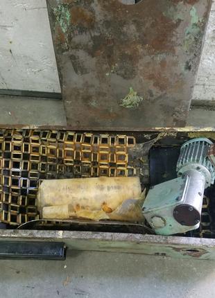 Бумажный сепаратор СОЖ от шлифовального станка 3е711