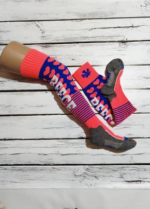 Носки высокие гольфы спортивные трекинговые лыжные для спорта ...