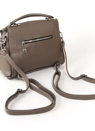 Женская сумка-рюкзак, как рюкзак или как сумку на плече, в рас...