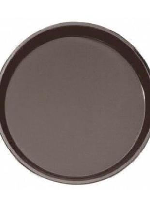 Поднос черный круглый 40 см Cambro