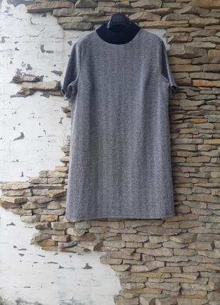Шикарное в елочку платье 👗  большого размера
