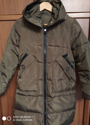 Куртка- пальто  зима