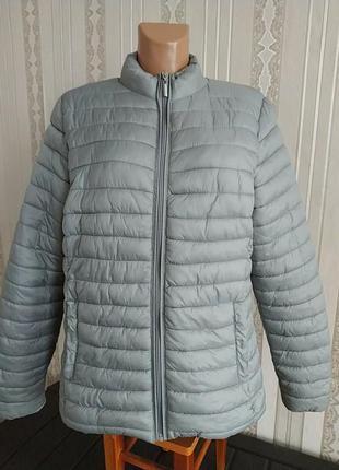 Женская стеганная куртка большой размер
