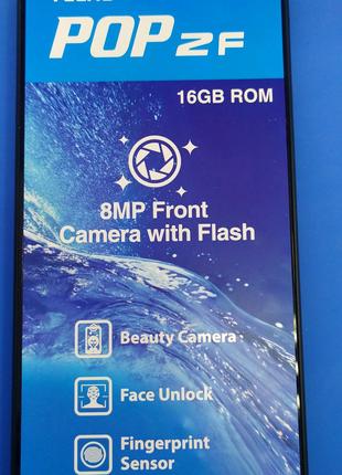 Дисплей с сенсором на рамке для Techo POP 2F (B1f)