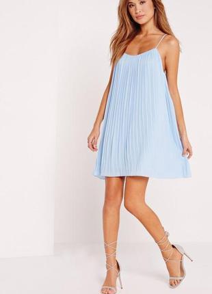 Легкое, воздушное платье плиссе
