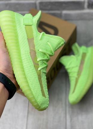Шикарные кроссовки adidas yeezy boost 350 v2 glow in the dark ...