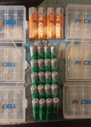 Аккумуляторы, АКБ, Батареи Pkcell ААА 850mAh; AA 2500mAh